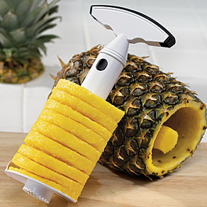 Pineapple Slicer Corer Image Source: http://www.mileskimball.com