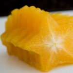 How to Slice and Eat a Star Fruit