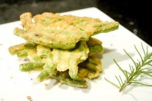 Egg Fried Greenbeans