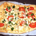 GUEST POST – Chicken Florentine Pizza